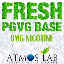 Εικόνα της Atmoslab Fresh Base Balanced (PG/VG) 100ml 0mg