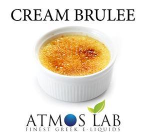 Εικόνα της ATMOS LAB FLAVOR 10ML CREAM BRULLE