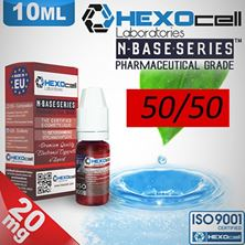 Εικόνα της HEXOCELL nBASE 50/50 VG/PG ( 10ML - 20mg )